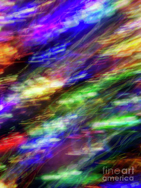 Photograph - Chromatic Current by Rick Locke