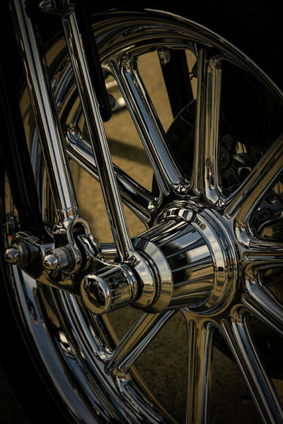 Photograph - Chrome Perfection 5983 H_2 by Steven Ward
