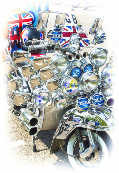 Mod Photograph - Chromed Classic by Tim Gainey