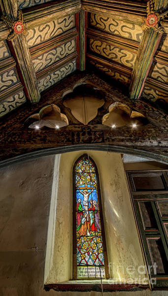 Wall Art - Photograph - Church Window by Adrian Evans
