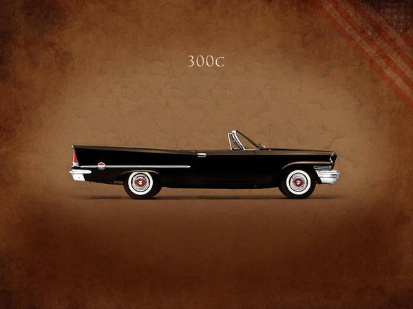 American Car Photograph - Chrysler 300c 1957 by Mark Rogan