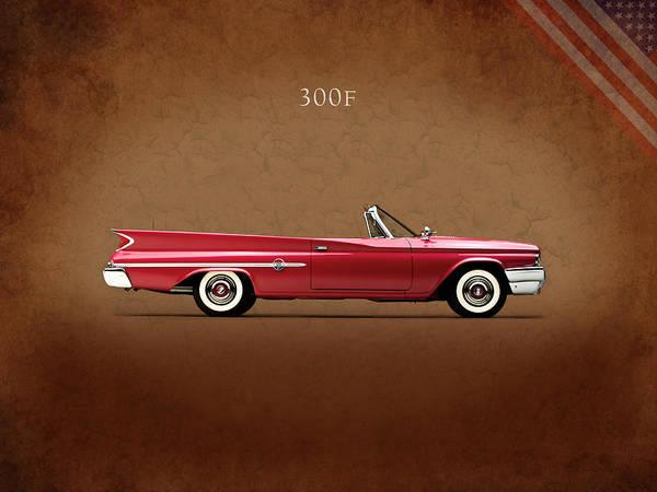 American Car Photograph - Chrysler 300f 1960 by Mark Rogan