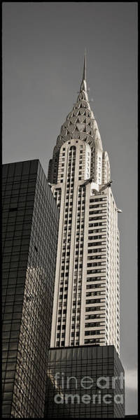 Photograph - Chrysler Building New York by Juergen Held