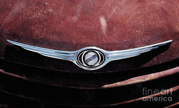 Photograph - Chrysler Hood by Mariella Wassing