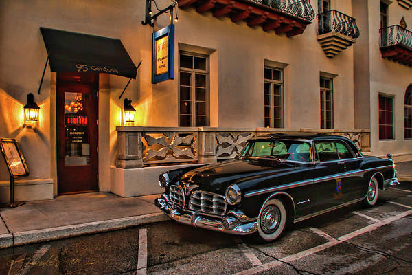 Chrysler Imperial Casa Monica Hotel Art Print
