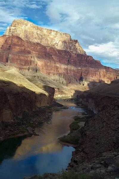 Chuar Butte Colorado River Grand Canyon Art Print