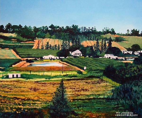 Painting - Chubby's Farm by Tim Johnson