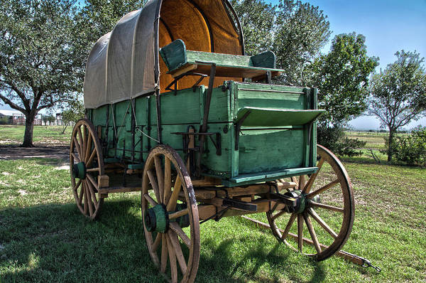 Photograph - Chuck Wagon by James Woody