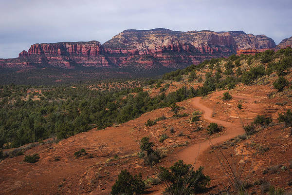 Photograph - Chuck Wagon Trail And Secret Mountain by Andy Konieczny