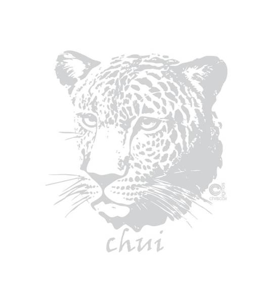 Painting - Chui Leopard by Christopher Cox
