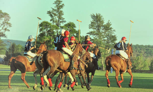Photograph - Chukker Team by JAMART Photography