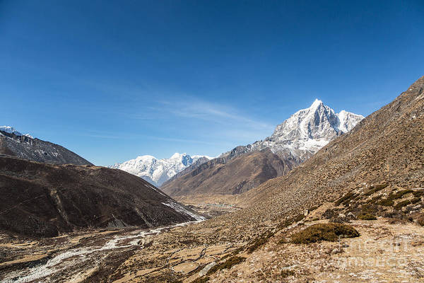 Photograph - Chukung Valley And The Taboche Peak In Nepal by Didier Marti