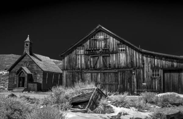 Photograph - Church And Barn by Cat Connor