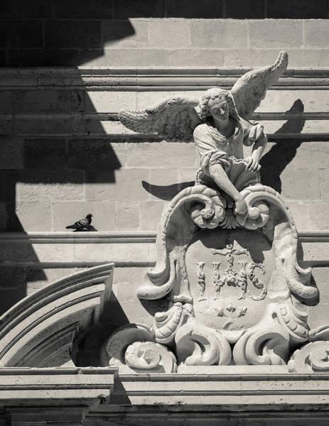 Dubrovnik Photograph - Church Angel by Dave Bowman