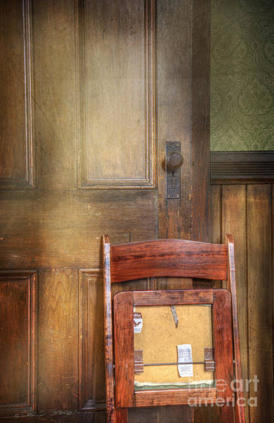 Photograph - Church Chair by Craig J Satterlee