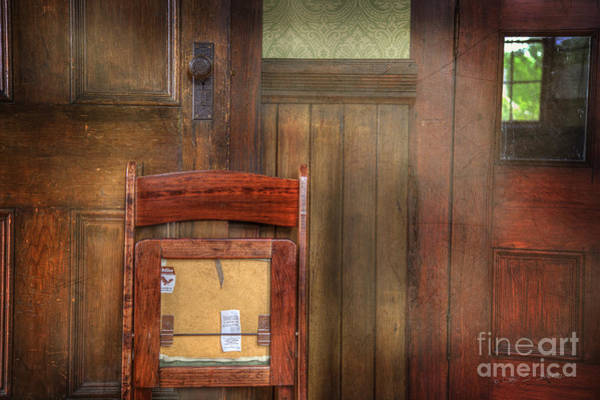 Photograph - Church Chair II by Craig J Satterlee