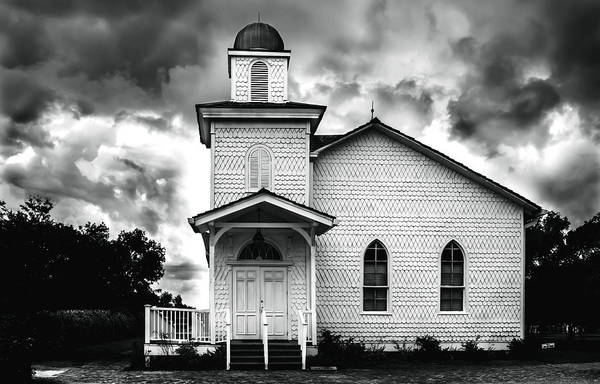 Photograph - Church by Chris Coffee