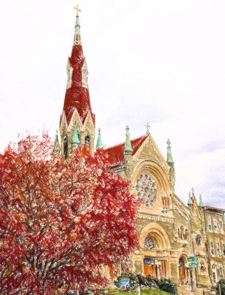 Photograph - Church Colors by Alice Gipson