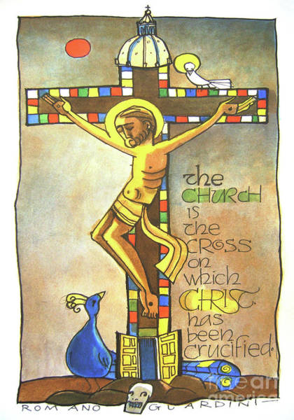 Painting - Church Cross - Mmchc					 by Br Mickey McGrath OSFS