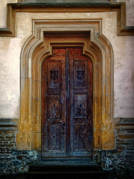 Photograph - Church Door Sighisoara by Adam Rainoff