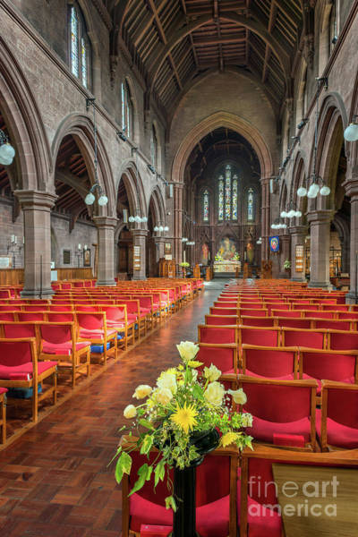 Photograph - Church Flowers by Adrian Evans