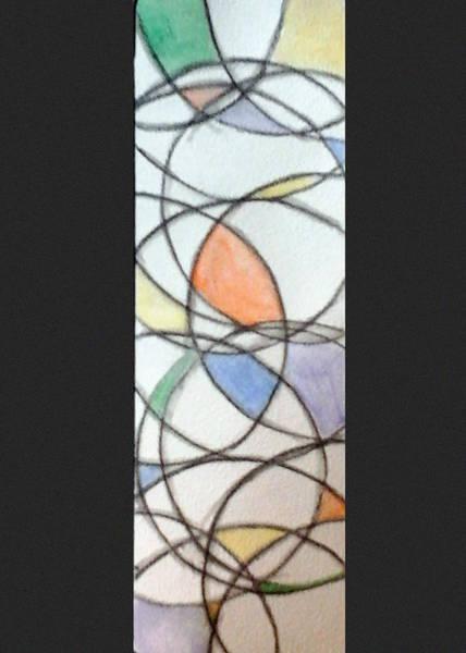 Painting - Church Glass by Loretta Nash