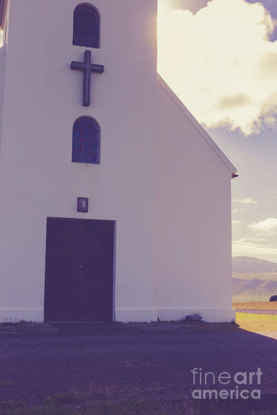 Photograph - Church Iceland by Edward Fielding