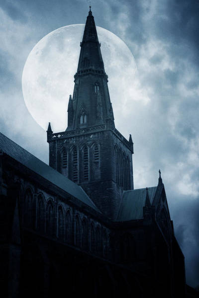 Church Photograph - Glasgow Cathedral by Cambion Art