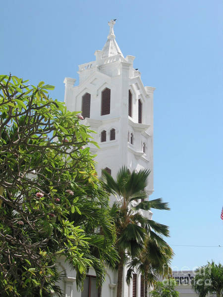 Photograph - Church In Key West by Ania M Milo