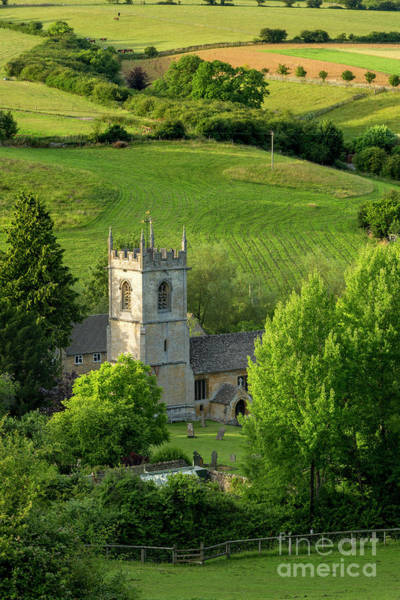 Wall Art - Photograph - Church In The Cotswolds by Brian Jannsen