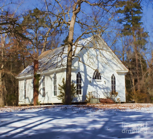 Photograph - Church In The Wood by Roberta Byram