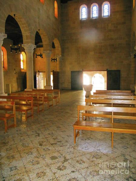 Photograph - Church Israel Pillars by Donna L Munro