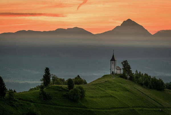 Photograph - Church Jamnik by Mario Visser