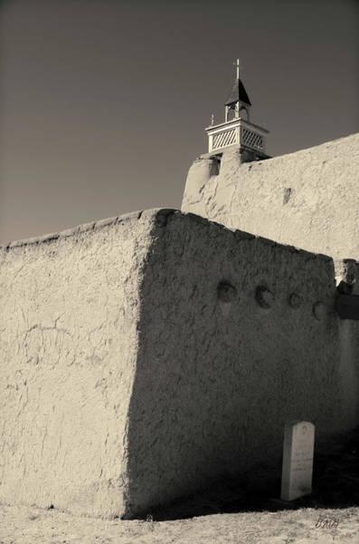 Photograph - Church - Las Trampas Nm Toned by David Gordon