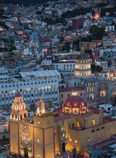 Photograph - Church Of  Guanajuato by Barry Weiss