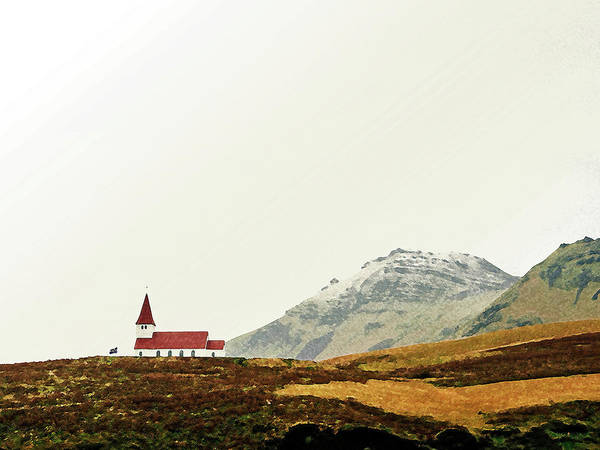 Painting - Church Of Highlands by Asar Studios