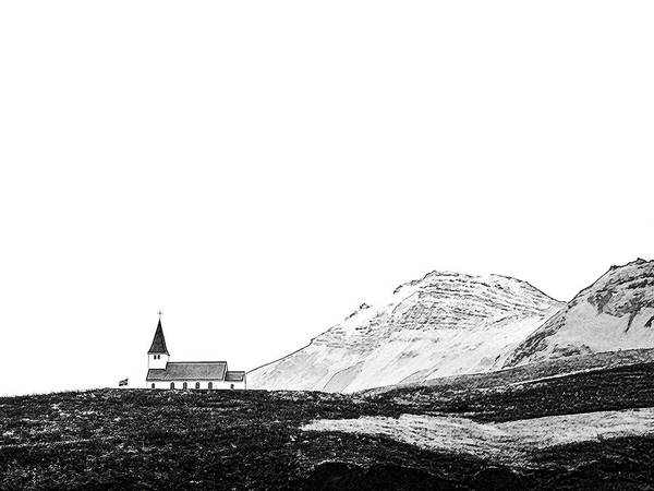 Painting - Church Of Highlands Skecth by Asar Studios
