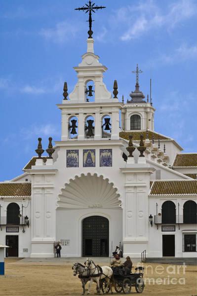 Photograph - Church Of Nuestra Senora Del Rocio by Heiko Koehrer-Wagner