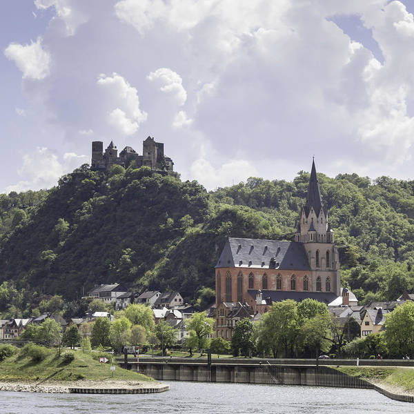 Wall Art - Photograph - Church Of Our Lady And Schoenburg Castle by Teresa Mucha