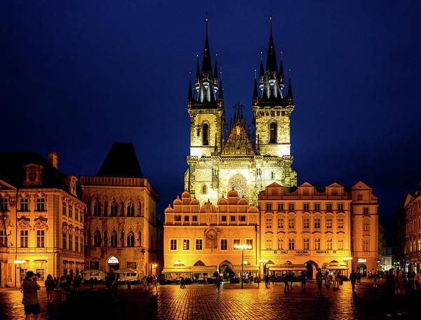 Photograph - Prague Old Town Square by M G Whittingham