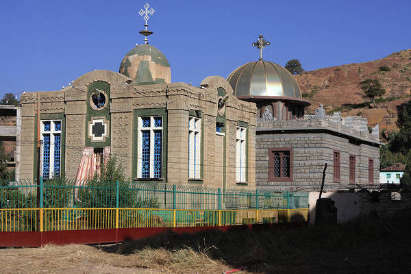 Photograph - Church Of Our Lady Mary Of Zion by Aidan Moran