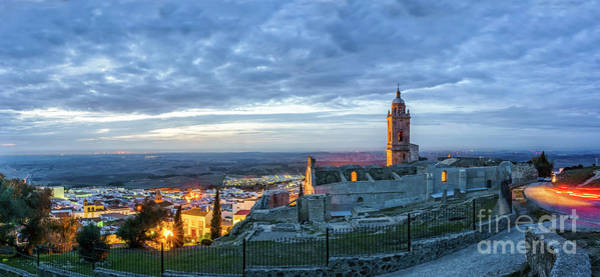 Photograph - Church Of Saint Mary The Crowned Medina Sidonia Panorama Cadiz Spain by Pablo Avanzini