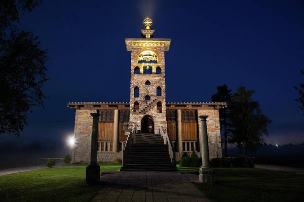 Wall Art - Photograph - Church Of Saint Michael At Dawn, Crna Vas, Slovenia. by Ian Middleton