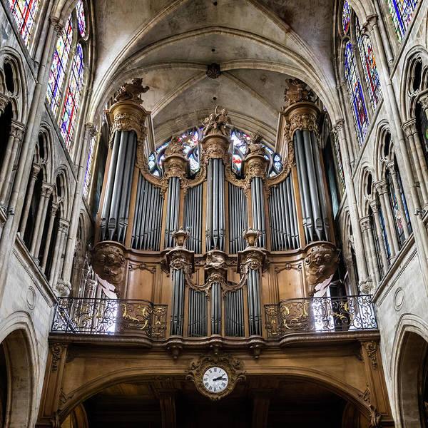 Wall Art - Photograph - Church Of Saint-severin Organ - #1 by Stephen Stookey