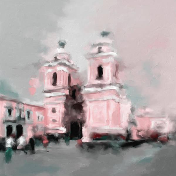 Wall Art - Painting - Church Of San Francisco 566 3 by Mawra Tahreem