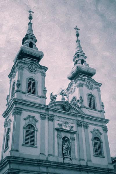 Buda Photograph - Church Of St Anne Budapest II by Joan Carroll