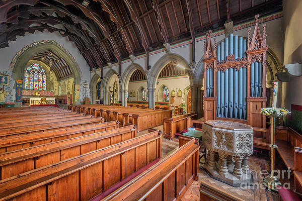 Wall Art - Photograph - Church Of St. David by Adrian Evans