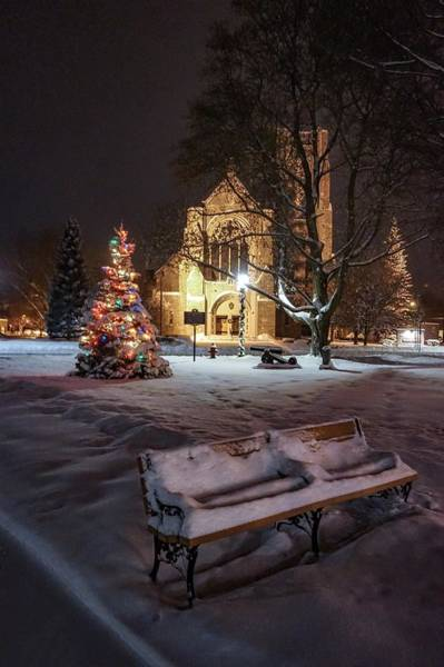 Photograph - Church Of St Mary St Paul At Christmas by Kendall McKernon