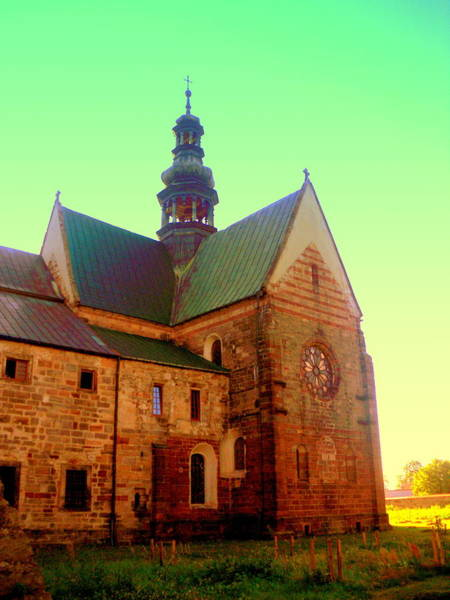 Gorecki Photograph - Church Of The Blessed Virgin Mary And St. Florian In The Wachock by Henryk Gorecki
