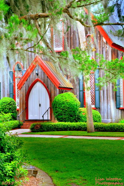 Photograph - Church Of The Cross Entrance H D R by Lisa Wooten